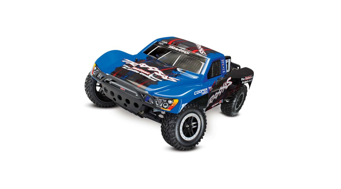 Image for 1/10 Slash VXL 2WD SCT Brushless RTR with TSM, Blue from HorizonHobby