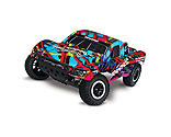 Traxxas - 1/10 Slash VXL 2WD SCT Brushless RTR with TSM, Hawaiian Edition