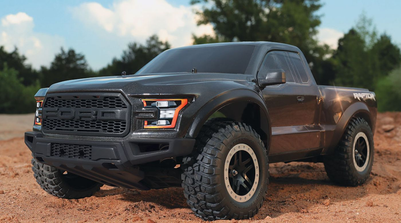 Wheels And Tires For Ford F150 >> 1/10 2017 Ford Raptor 2WD Brushed RTR, Magnetic | HorizonHobby