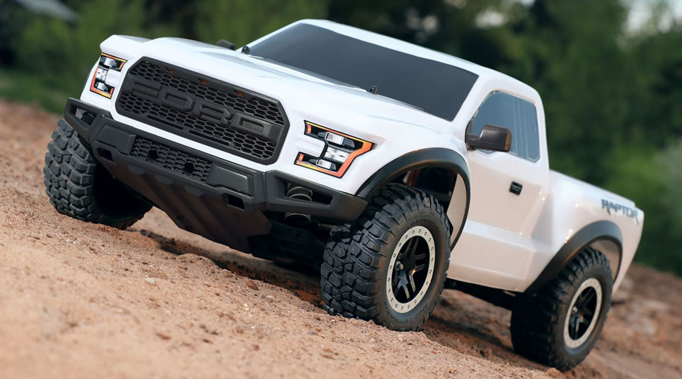 Image for 1/10 2017 2WD Ford Raptor RTR with XL-5 ESC Oxford & 1/10 2017 2WD Ford Raptor RTR with XL-5 ESC Oxford White ... markmcfarlin.com