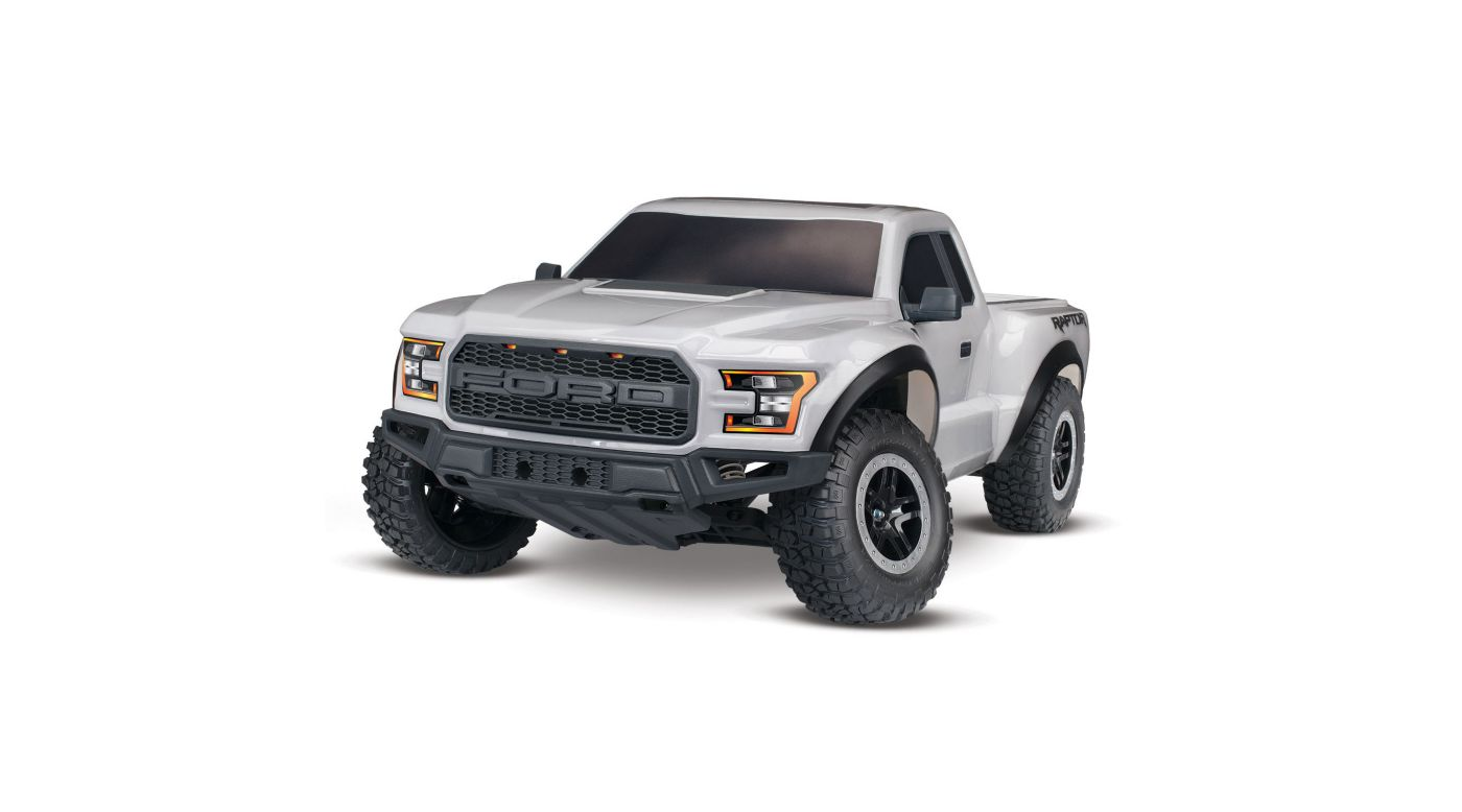 Image for 1/10 2017 Ford Raptor 2WD Brushed RTR, Silver from HorizonHobby