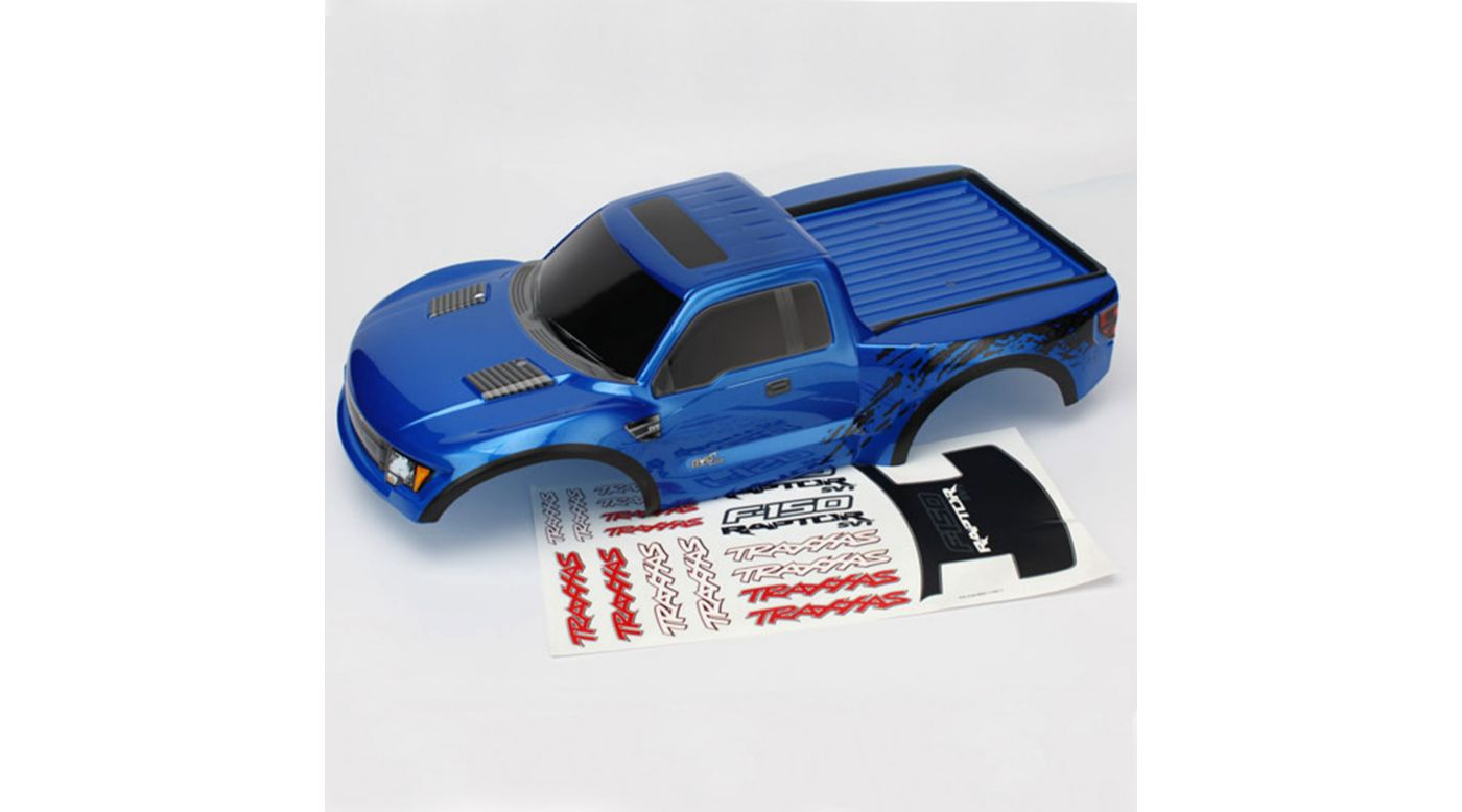 Image for Ford Raptor Blue Body TRA5806 from HorizonHobby