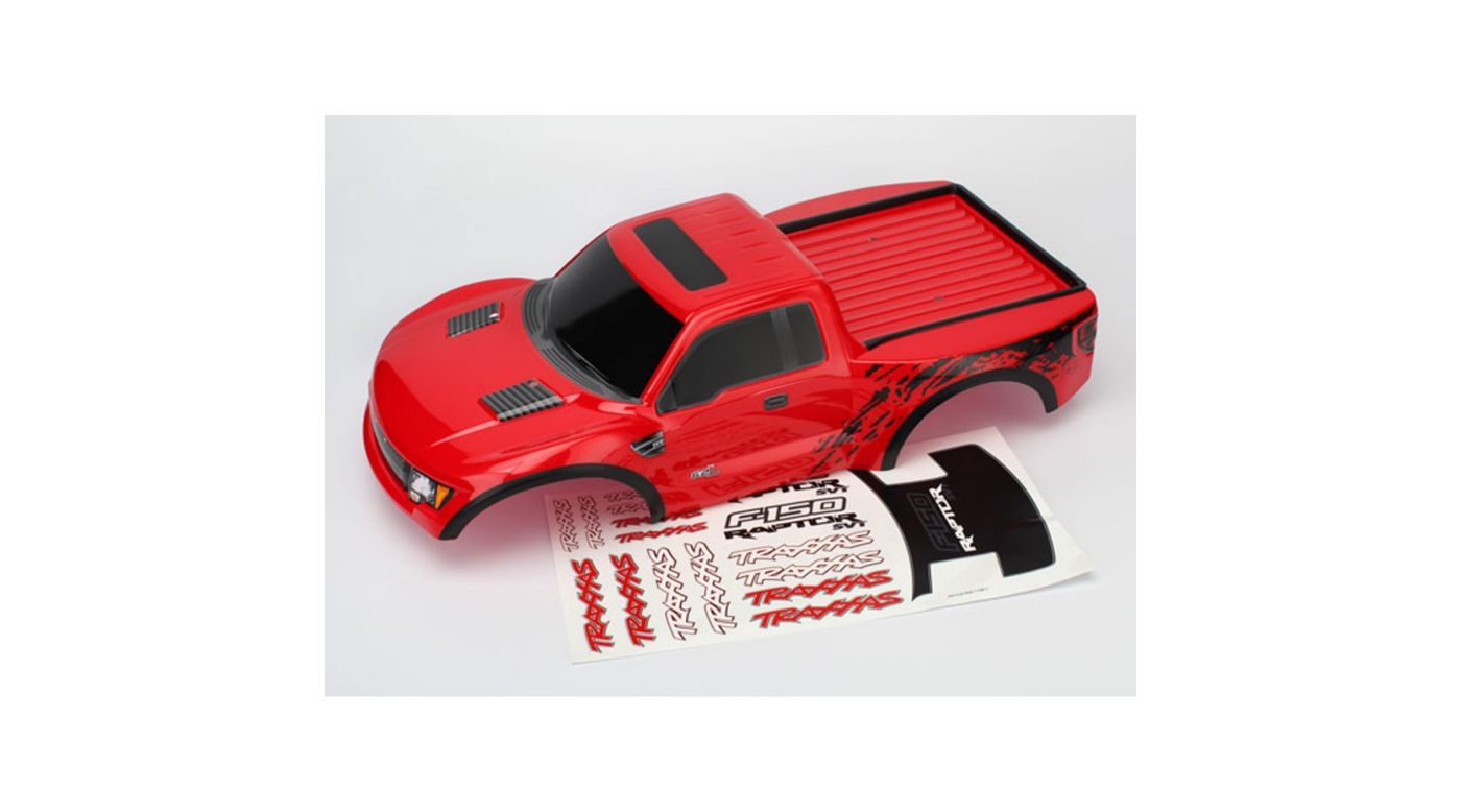 Image for Ford Raptor, Red Body: TRA5806 from HorizonHobby