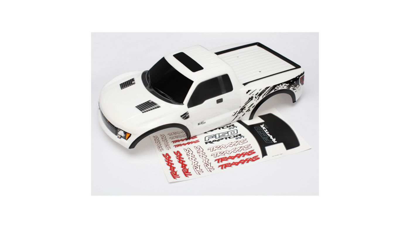 Image for Ford Raptor, White Body: TRA5806 from HorizonHobby