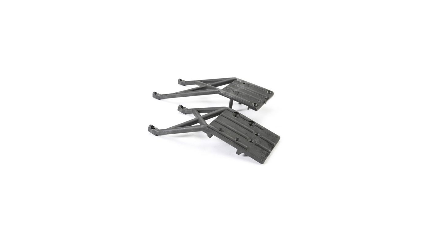 Image for Front & Rear Skidplates, Black: Slash from HorizonHobby