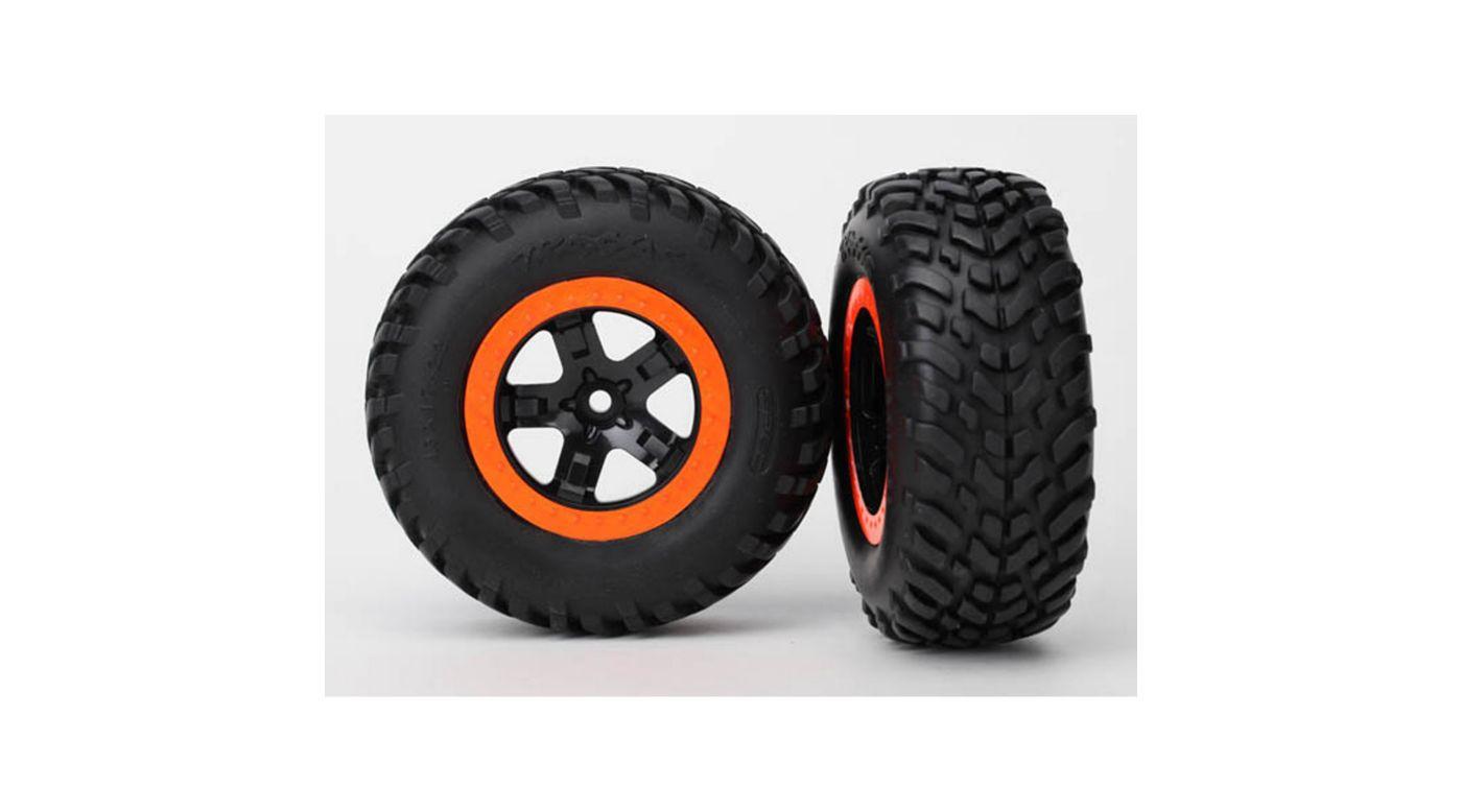 Image for Rear Tires & Wheels: Robbie Gordon Slash from HorizonHobby