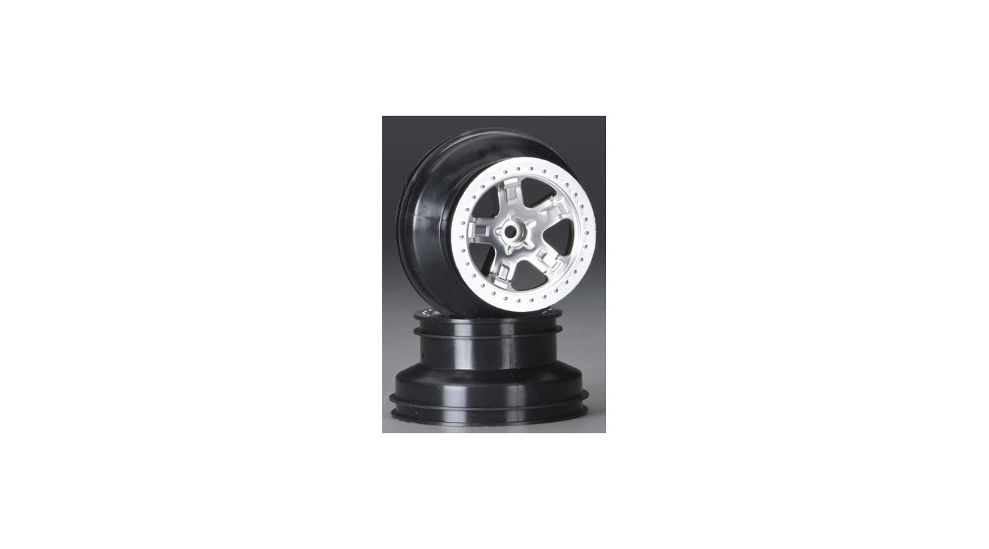 Image for Satin Chrome Rear Wheels 2.2