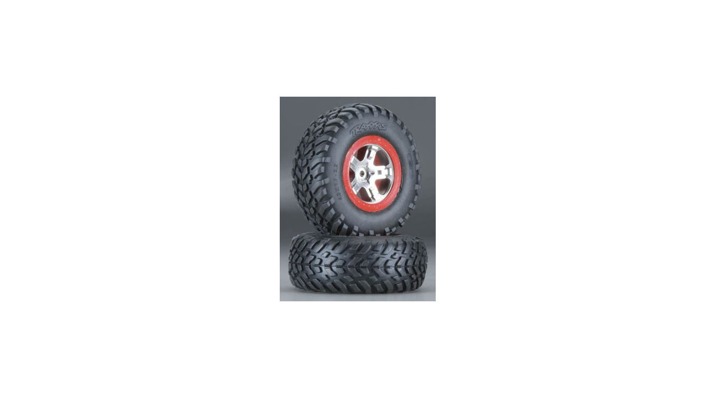 Image for S1 Mounted Racing Tire(2):Rear SLH, FR & R SLH 4x4 from HorizonHobby