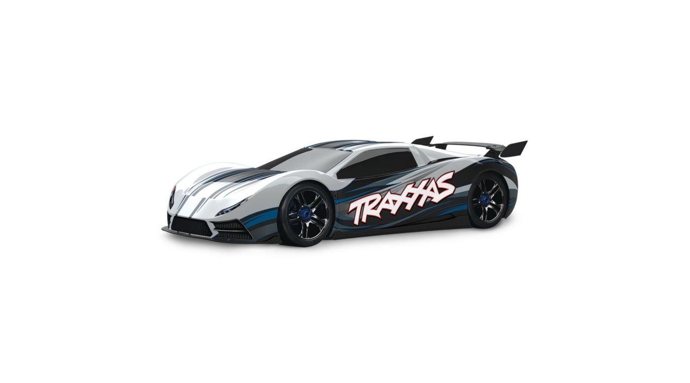 Image for 1/7 X0-1 4WD Supercar Brushless RTR with TSM, White from HorizonHobby