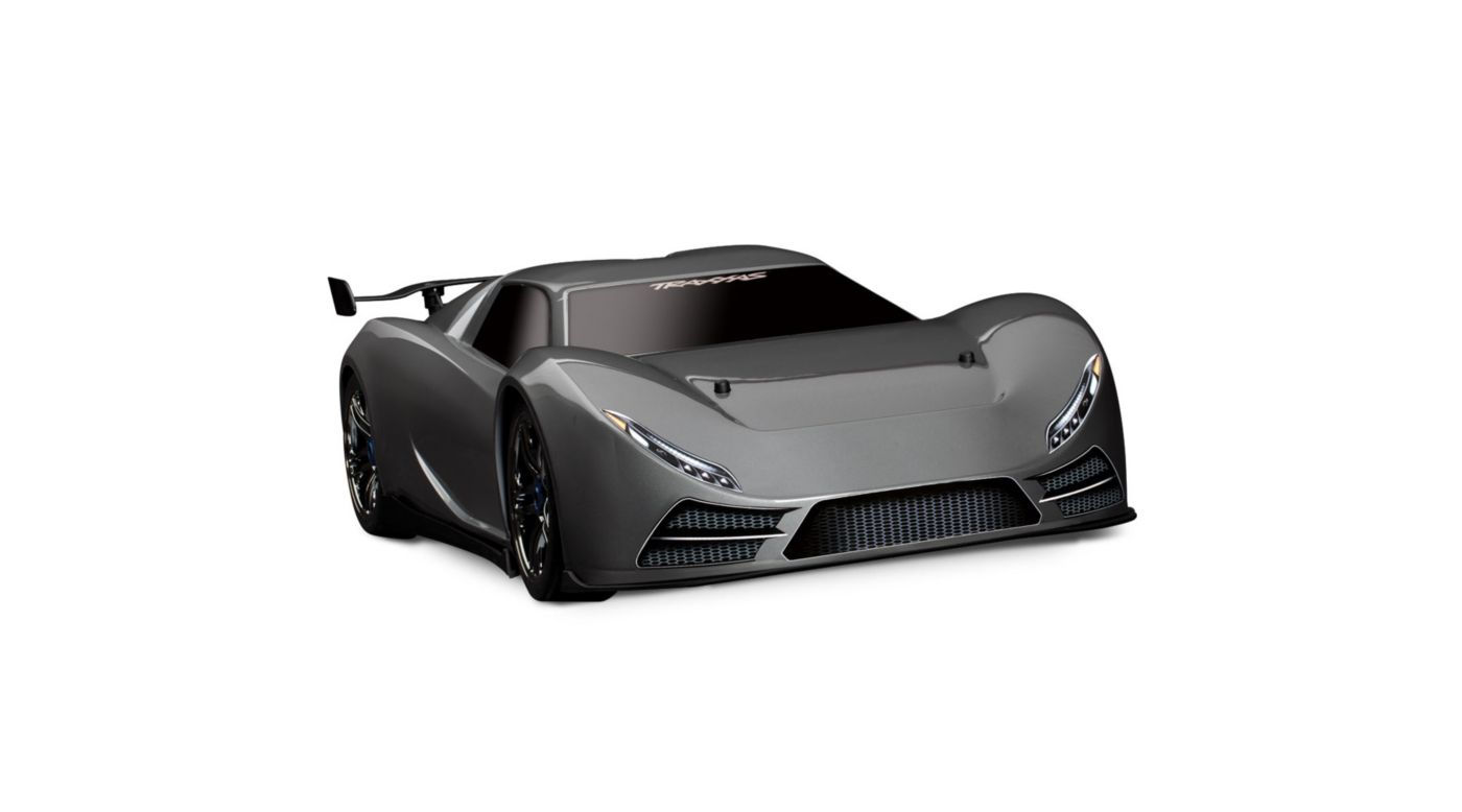 Image for XO-1 1/7 Scale AWD Supercar w/ TQi 2.4 Radio Silver from HorizonHobby