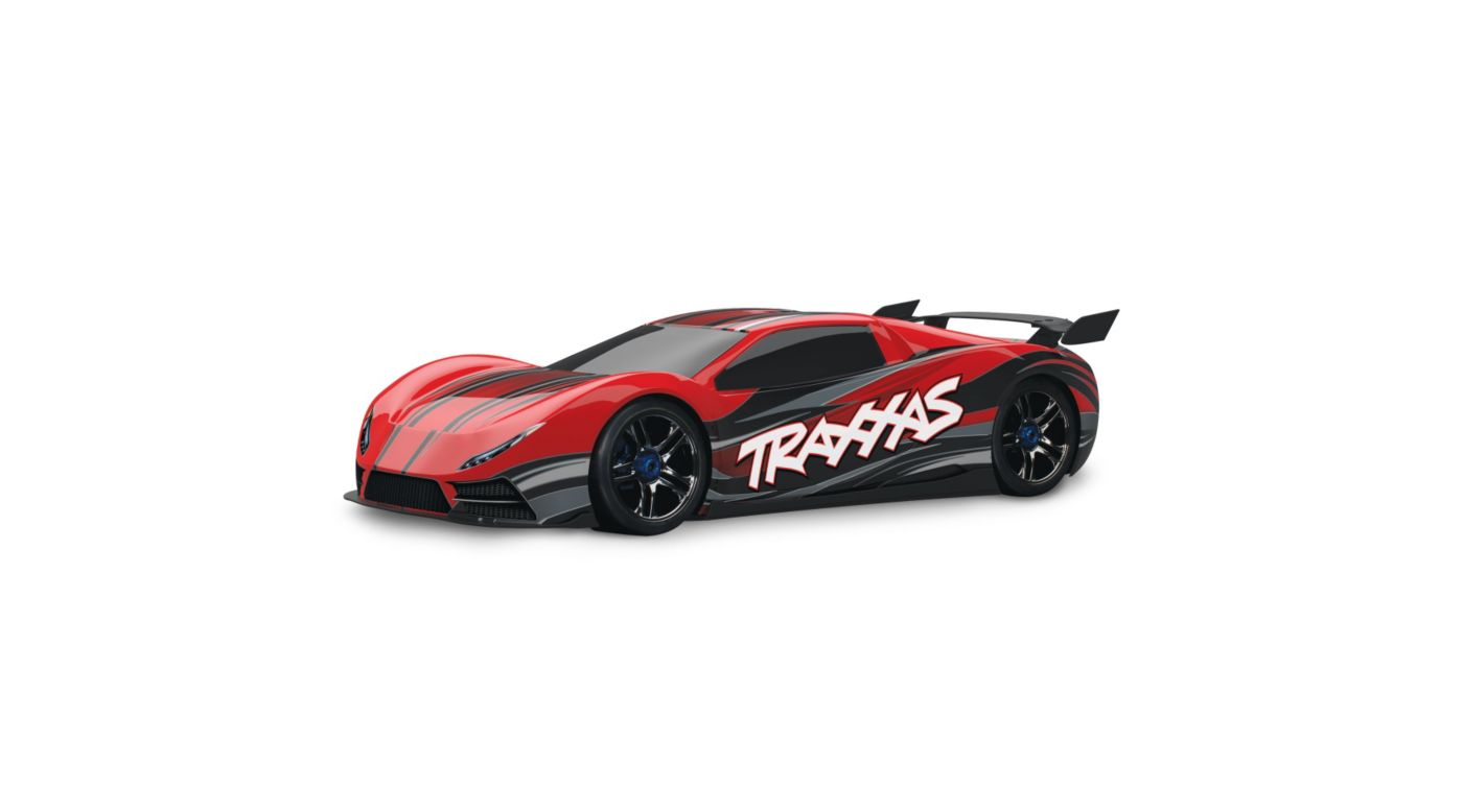 Image for 1/7 XO-1 AWD Supercar RTR w/TQi 2.4GHz, Red from HorizonHobby
