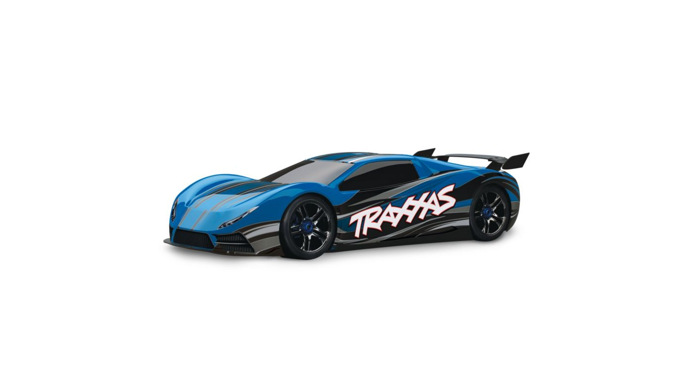 Image for 1/7 XO-1 AWD Supercar RTR w/TQi 2.4GHz, Blue from HorizonHobby