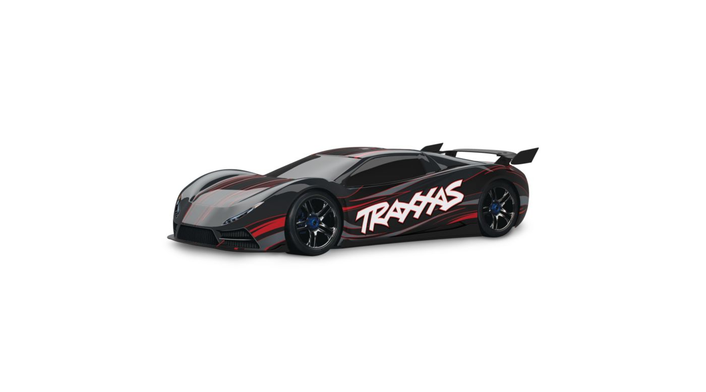 Image for 1/7 XO-1 AWD Supercar RTR w/TQi 2.4GHz, Black from HorizonHobby
