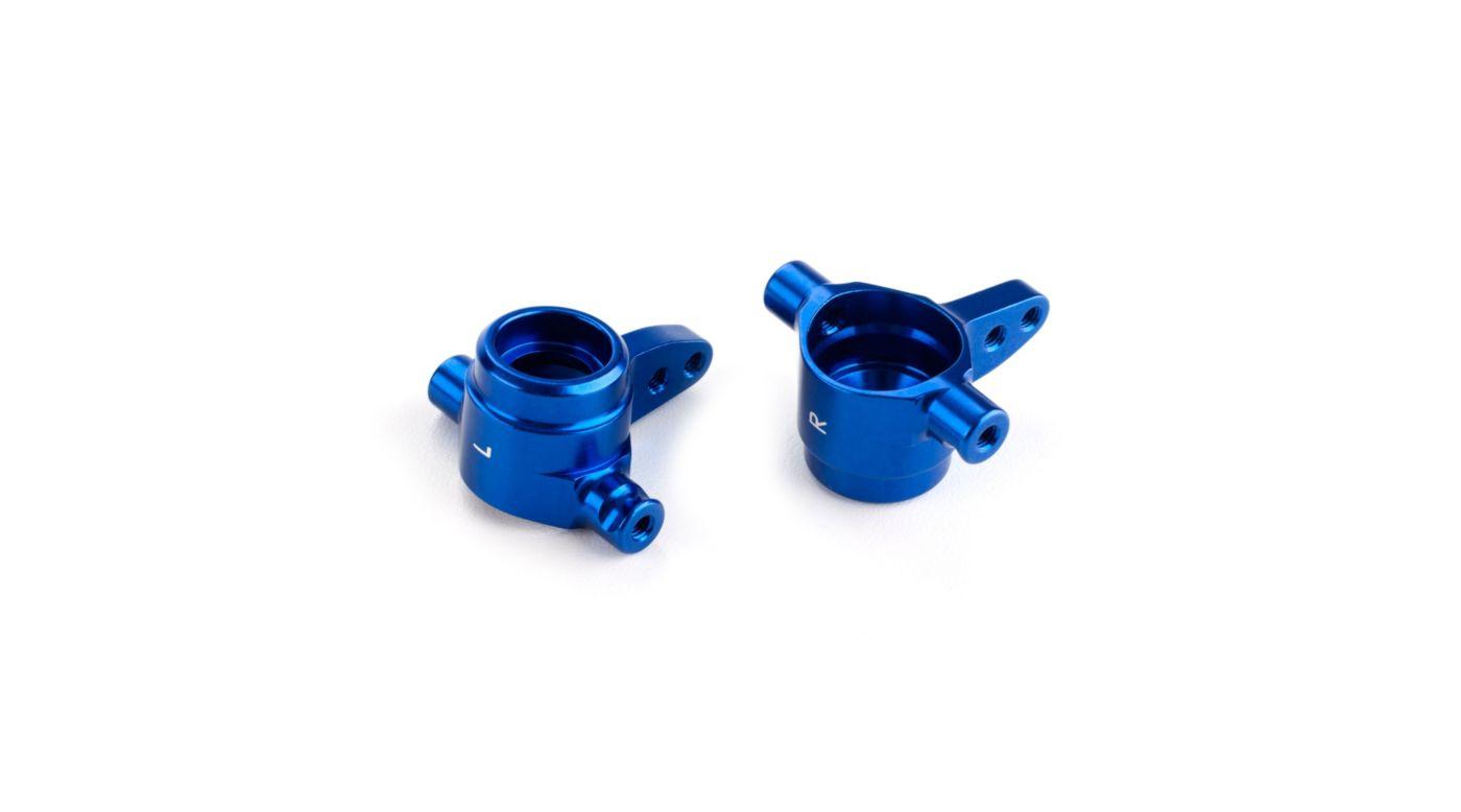 Image for Aluminum Steering Blocks (left & right), Blue: XO-1 from HorizonHobby