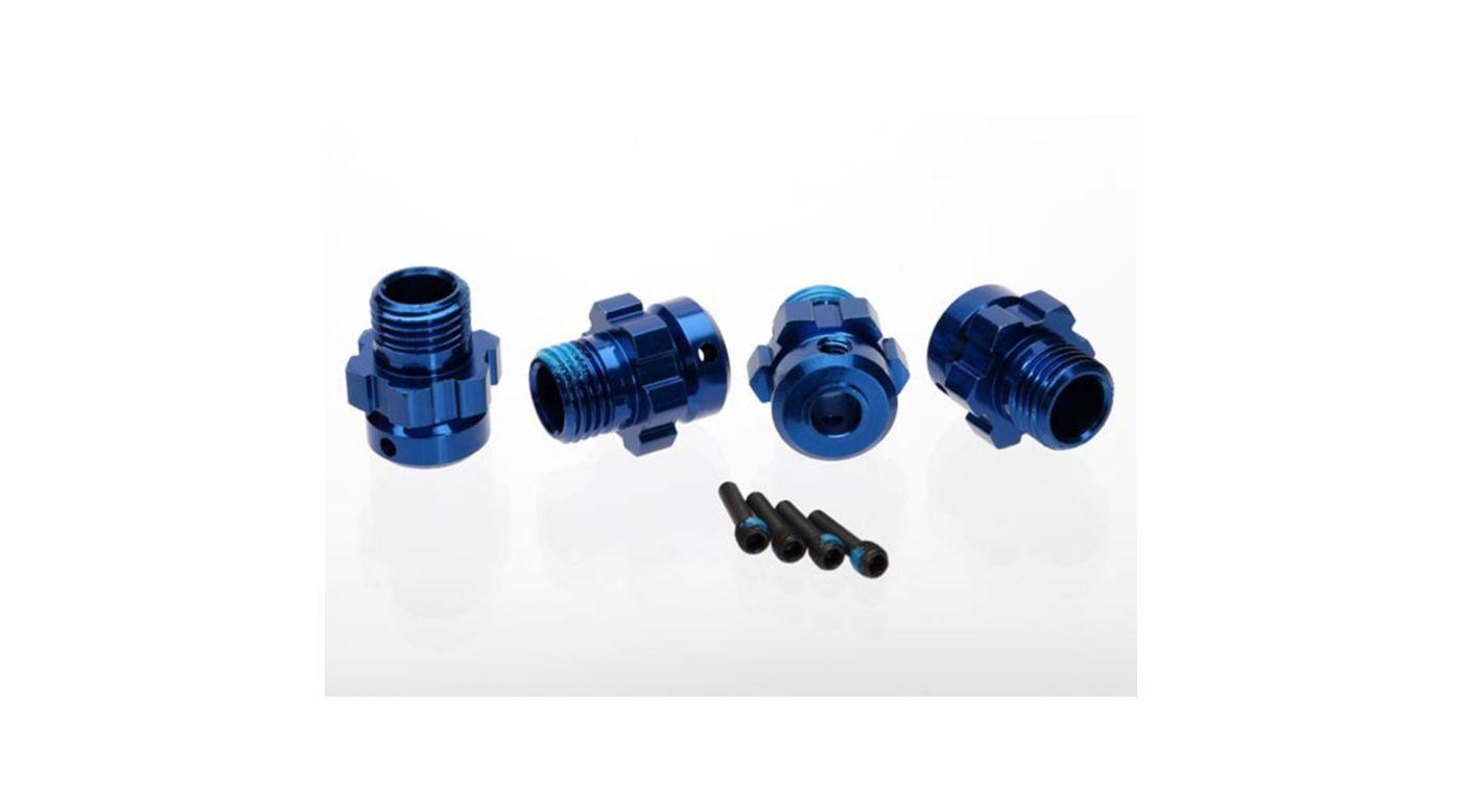 Image for Aluminum 17mm Wheel Hub, Blue (4): XO-1 from HorizonHobby