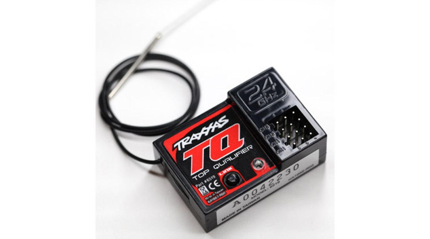 Image for Receiver, Micro, TQ 2.4GHz, 3 Channel from HorizonHobby