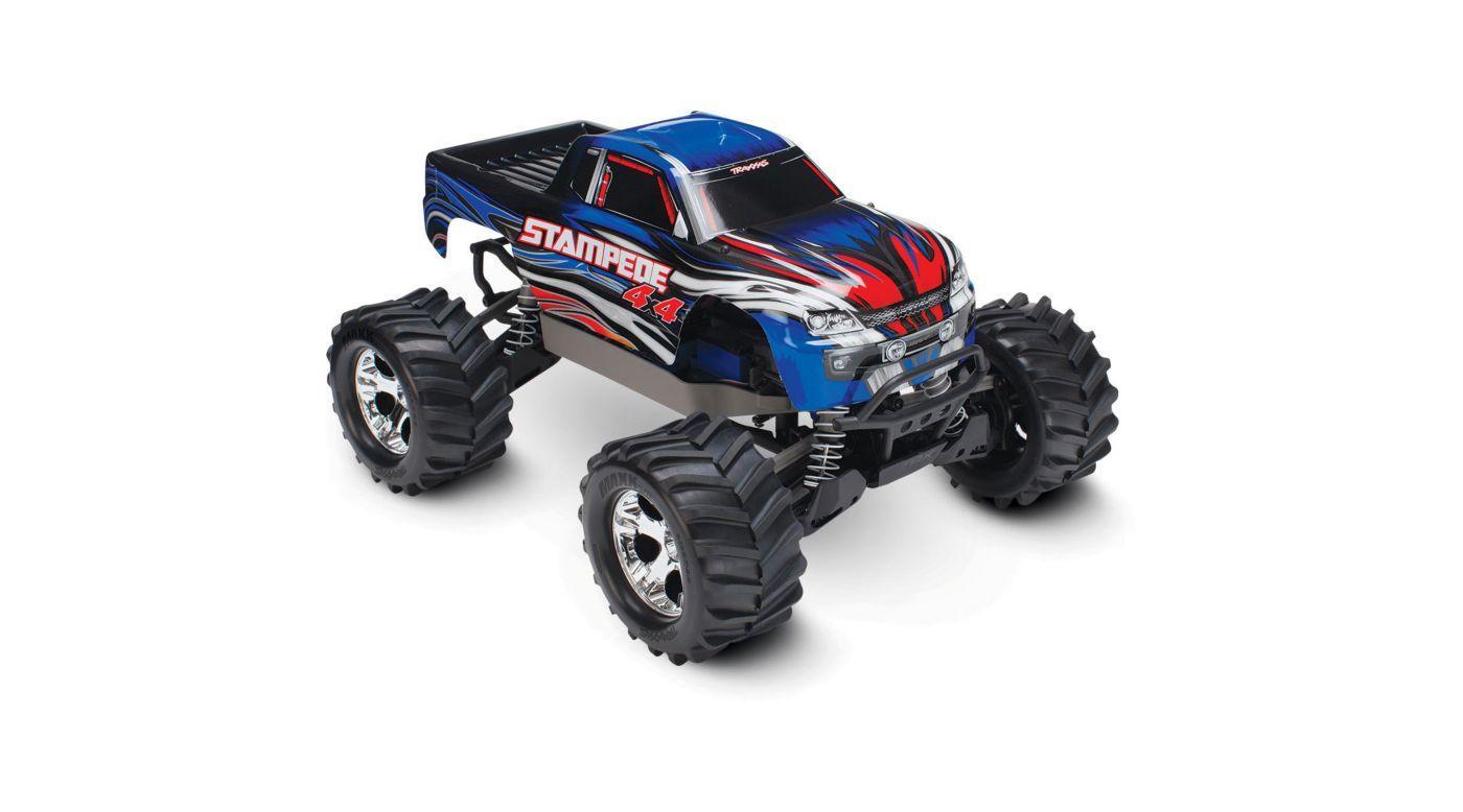 Image for 1/10 Stampede 4WD Monster Truck Brushed RTR, Blue from HorizonHobby