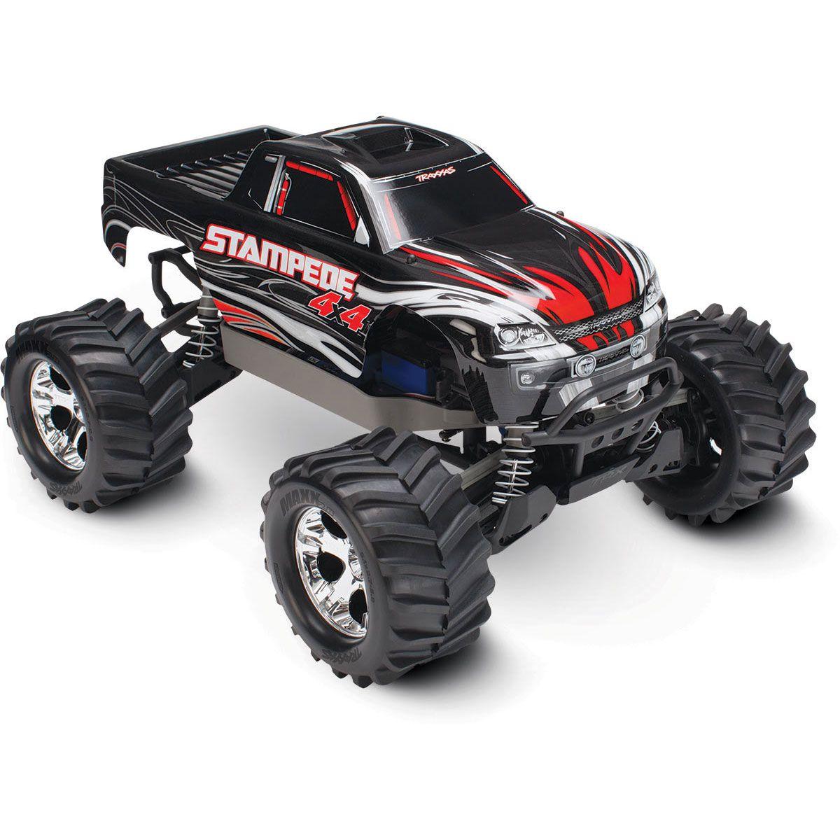 traxxas stampede 4x4 ready to run xl 5 remote control monster truck rh horizonhobby com traxxas stampede xl5 manual Traxxas Stampede Bodies