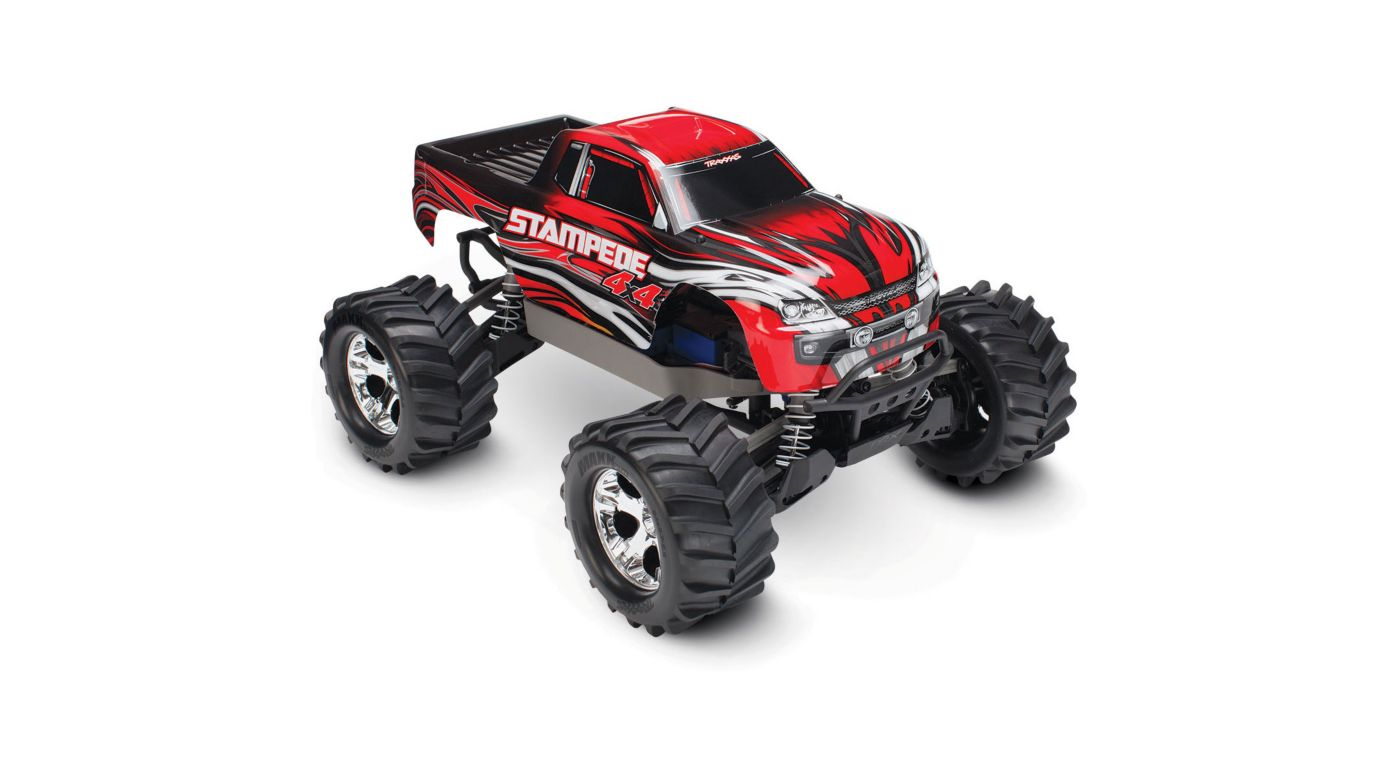 Image for 1/10 Stampede 4WD Monster Truck Brushed RTR, Red from HorizonHobby