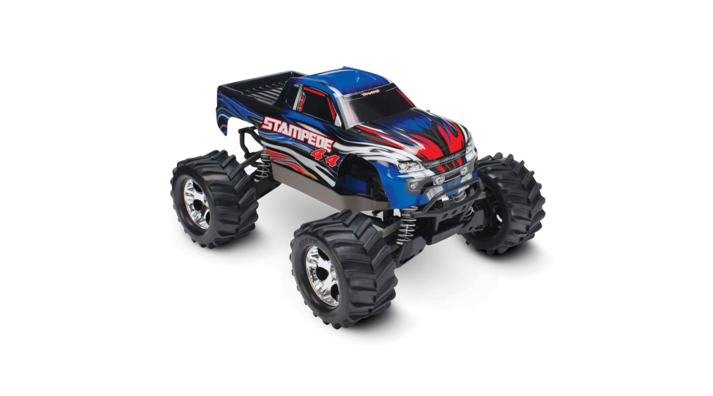 Image for 1/10 Stampede 4X4 RTR, XL-5, with TQ 2.4GHz, 7C NiMH, Blue from HorizonHobby