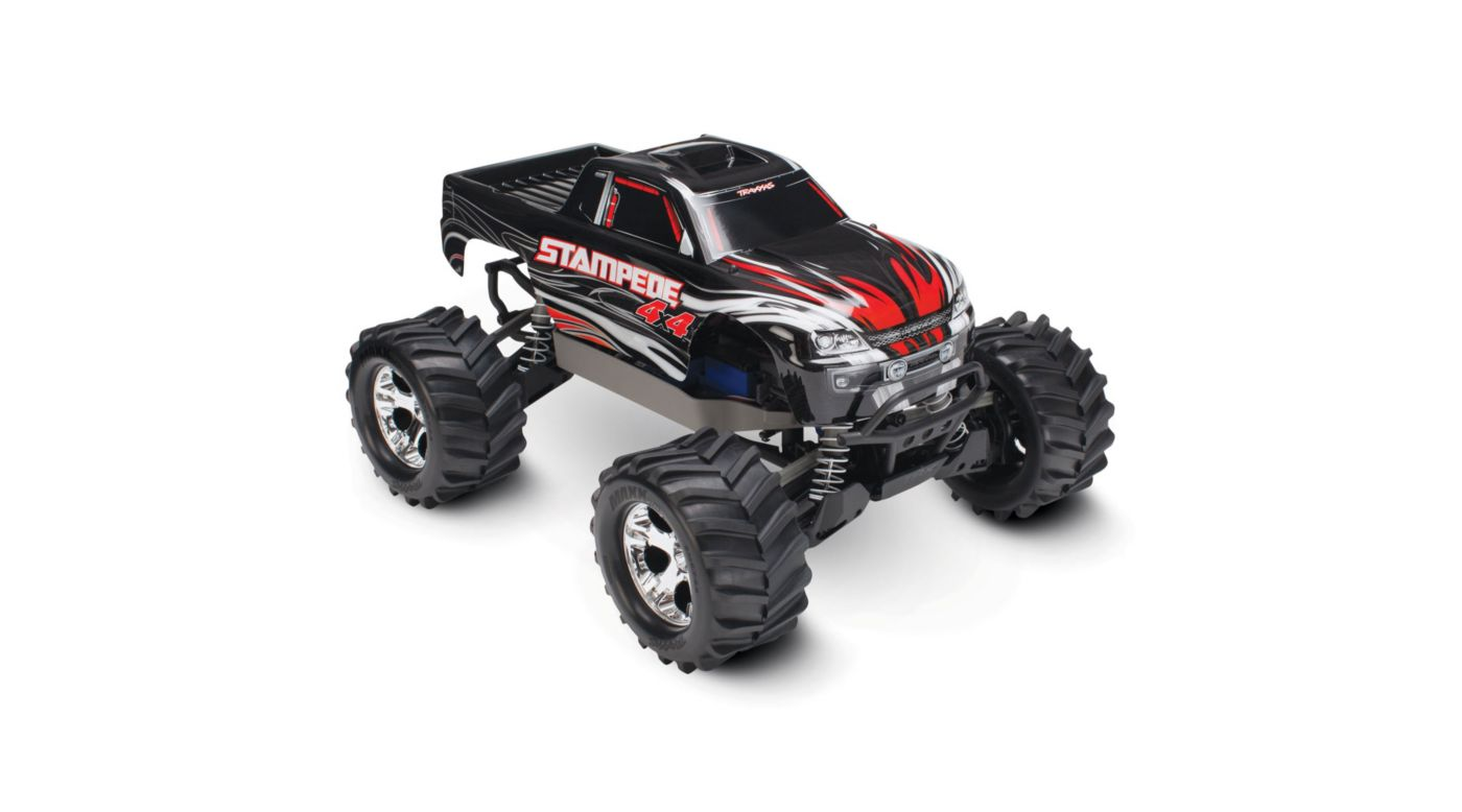 Image for 1/10 Stampede 4X4 RTR, XL-5, with TQ 2.4GHz, 7C NiMH, Black from HorizonHobby