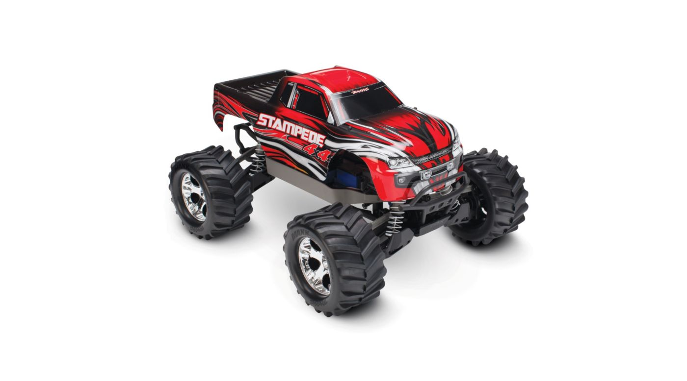 Image for 1/10 Stampede 4X4 RTR, XL-5, with TQ 2.4GHz, 7C NiMH, Red from HorizonHobby