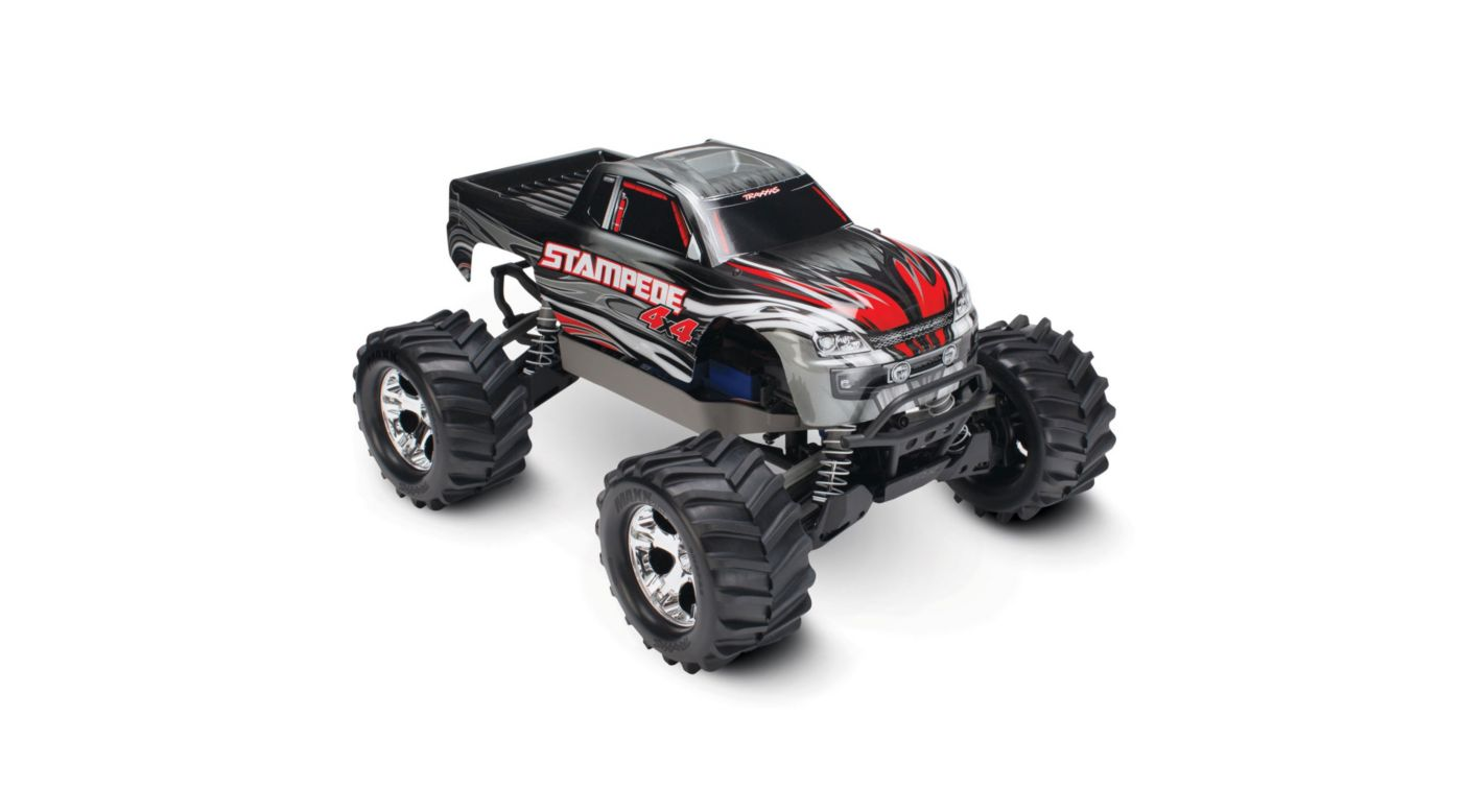 Image for 1/10 Stampede 4X4 RTR, XL-5, with TQ 2.4GHz, 7C NiMH, Silver from HorizonHobby