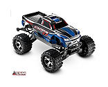 Traxxas - 1/10 Stampede VXL 4WD Monster Truck Brushless RTR with TSM, Blue