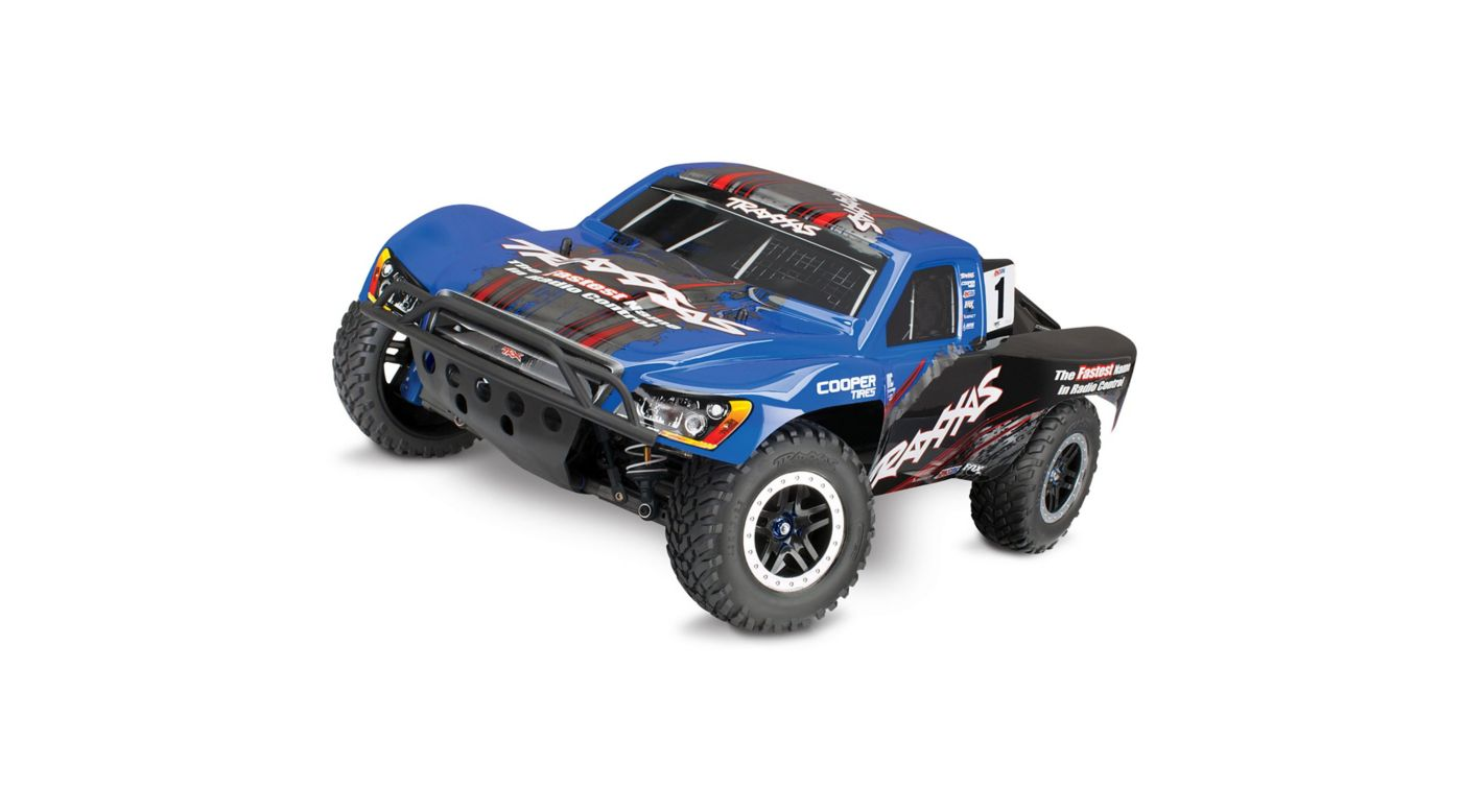Image for 1/10 Slash Ultimate 4x4 Brushless RTR with TSM, Blue from HorizonHobby
