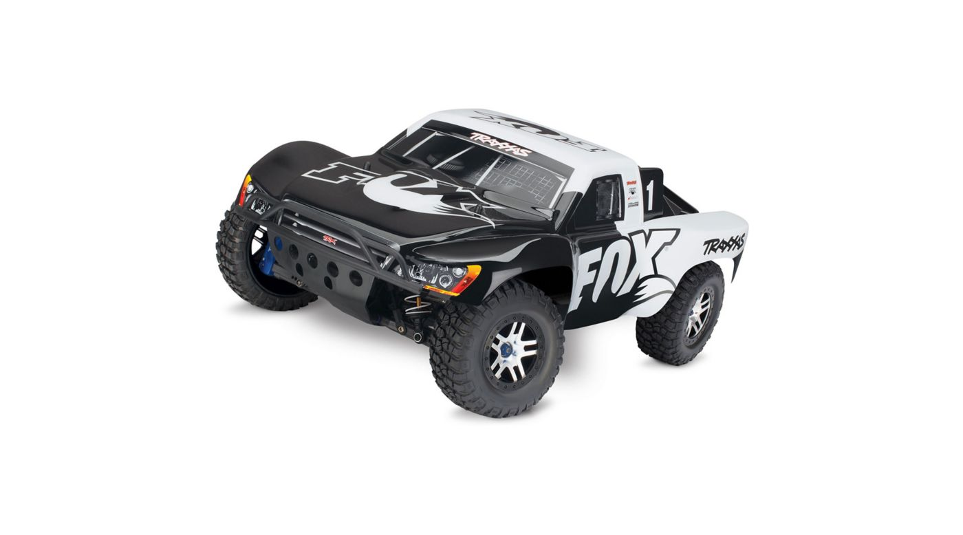 Image for 1/10 Slash Ultimate 4x4 Brushless RTR with TSM, Fox Edition from HorizonHobby