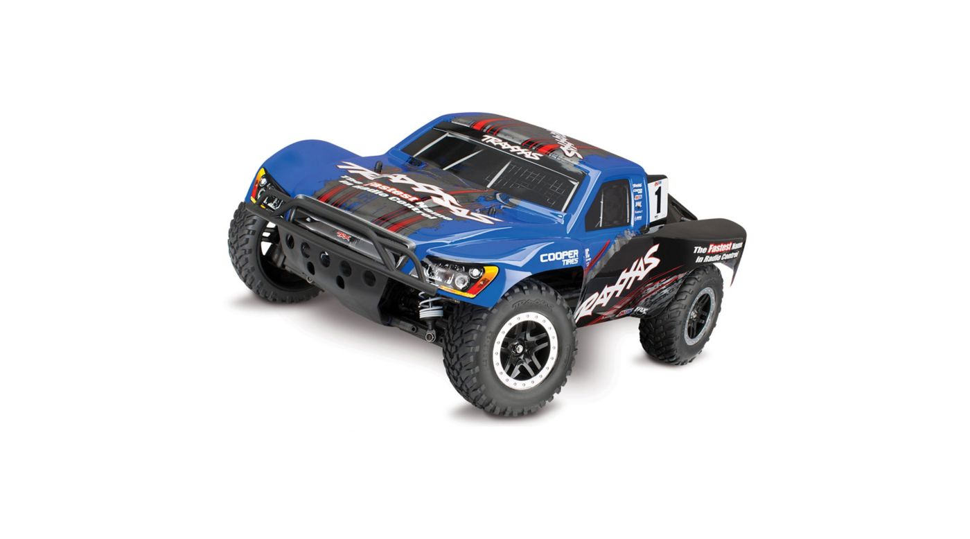 Image for 1/10 Slash 4WD, VXL with On Board Audio Module and ID, TQ 2.4GHz, Blue from HorizonHobby