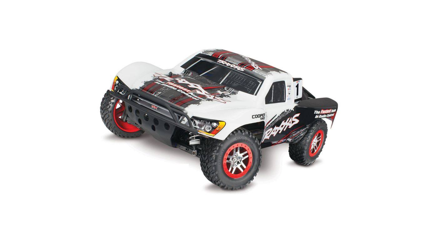Image for 1/10 Slash 4WD, VXL with On Board Audio Module and ID, TQ 2.4GHz, White from HorizonHobby