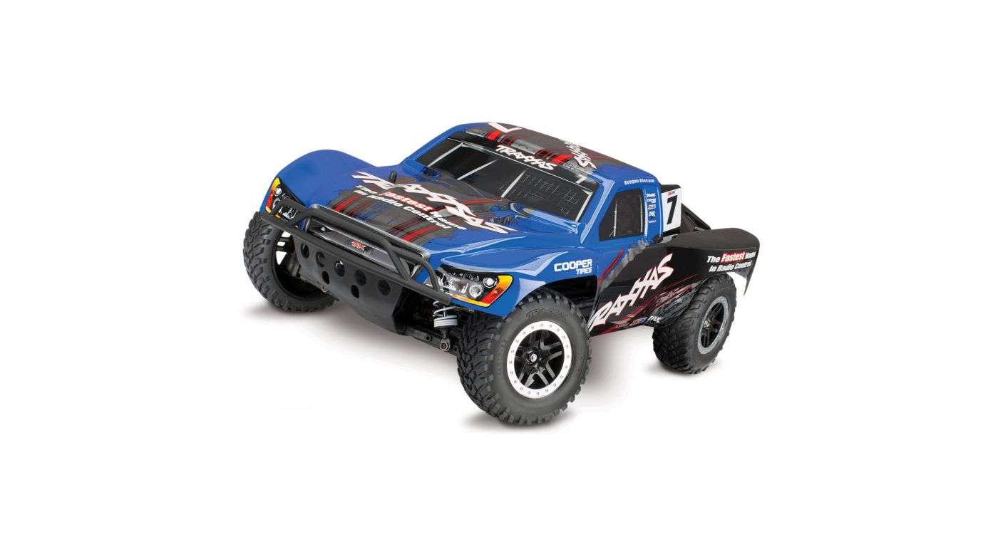Image for 1/10 Slash 4X4 SCT Brushless RTR with TSM, Blue from HorizonHobby