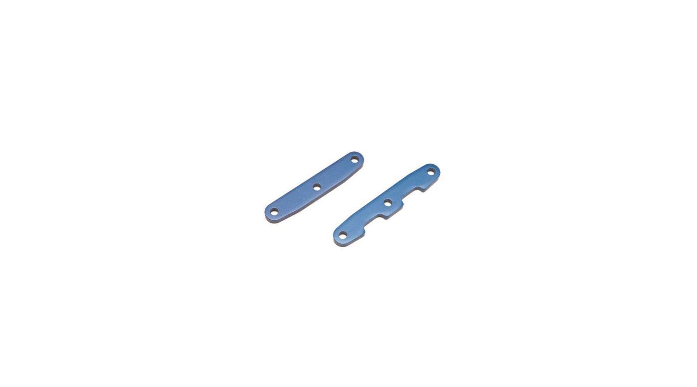 Image for Alum Front & Rear Bulkhead Tie Bars, Blue: SLH 4x4 from HorizonHobby