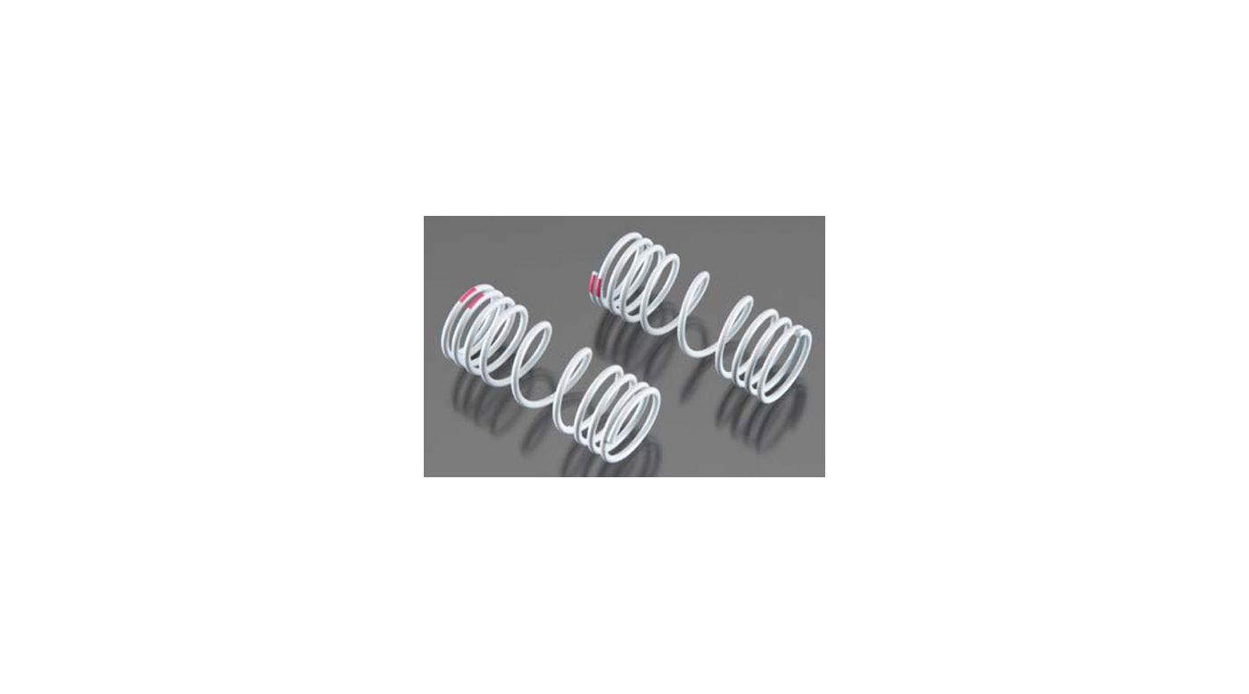 Image for Front Springs, Pink 10% Rate (2): Slash 4x4 from HorizonHobby