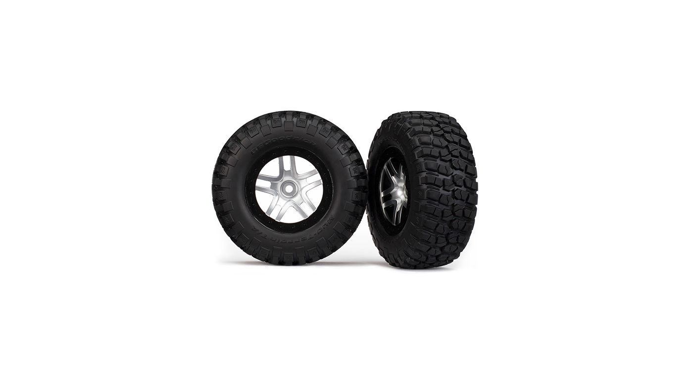 Image for Tires/Wheels Assembled Black Beadlock (2) from HorizonHobby