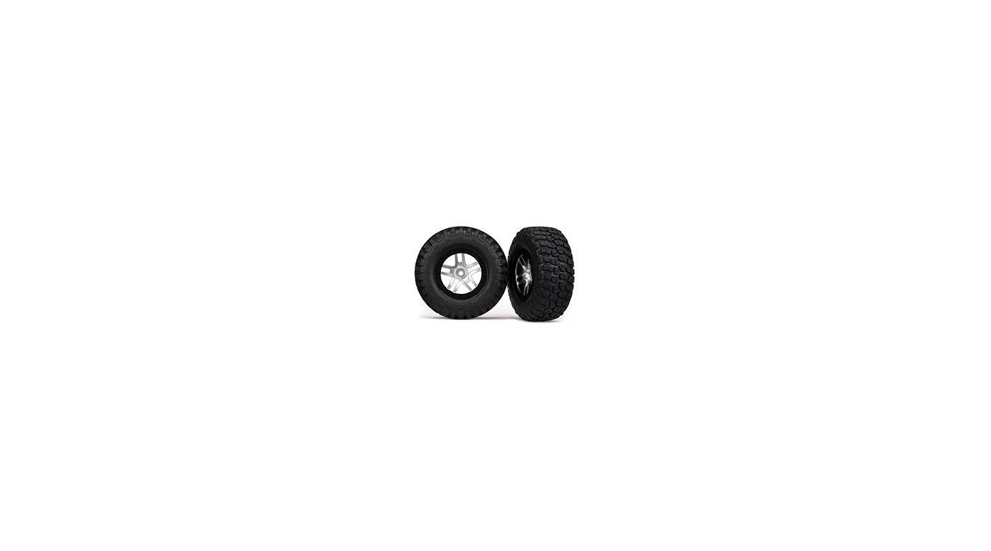 Image for Tire & Wheel Chrome (2): R 2WDSLH, SLH 4x4 from HorizonHobby