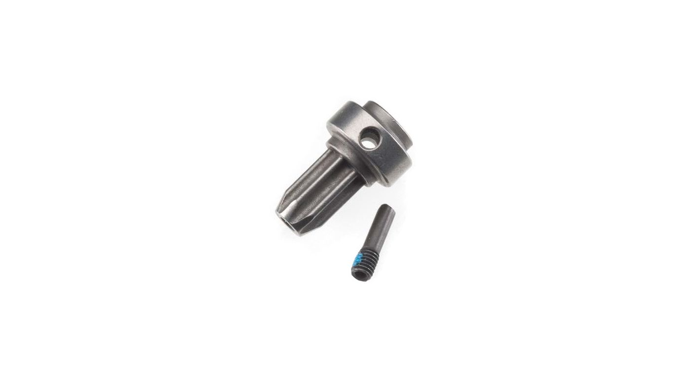 Image for Front Drive Hub, Hardened Steel: SLH 4x4 from HorizonHobby