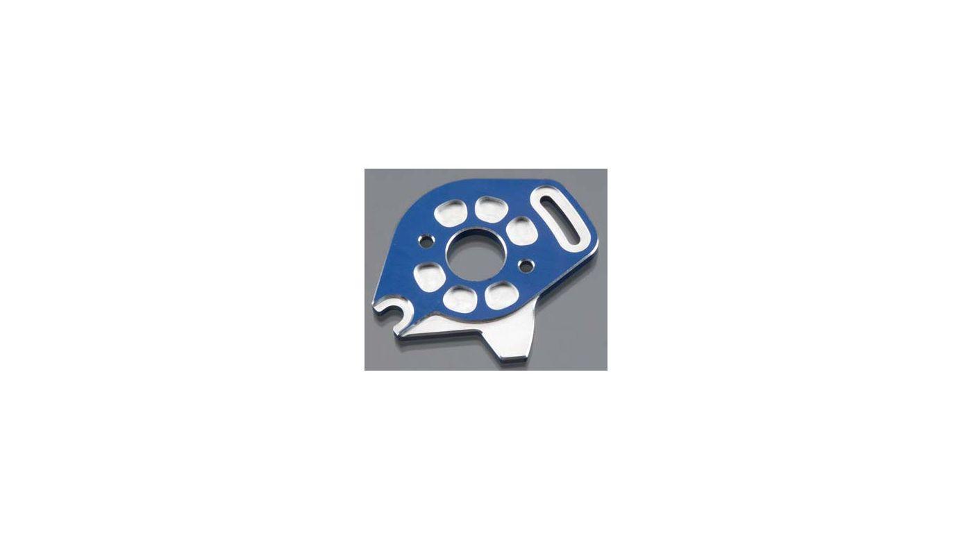 Image for Aluminum Motor Plate, Blue: SLH 4x4 from HorizonHobby