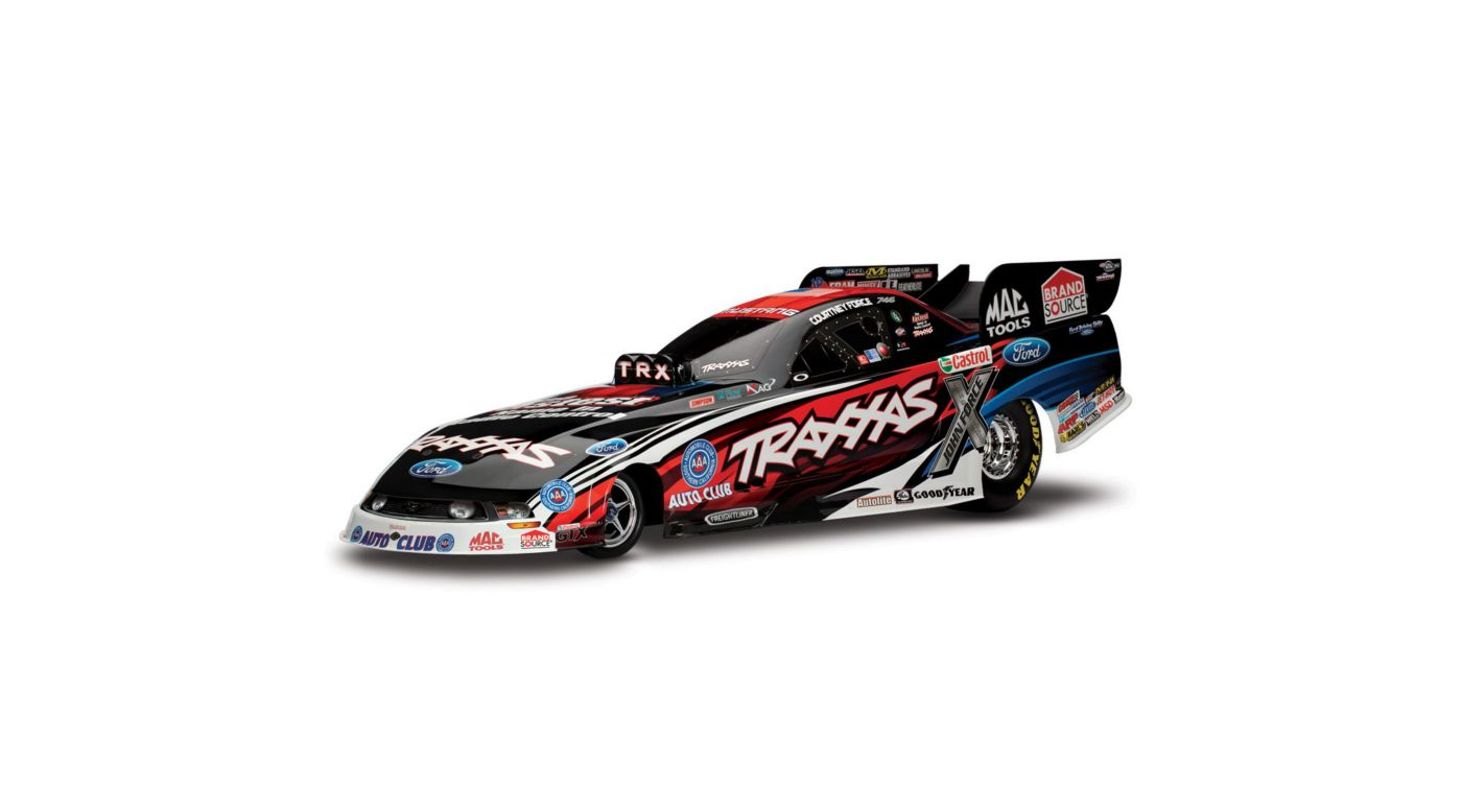 Image for 1/8 NHRA Funny Car w/ 2.4 Radio: Courtney Force from HorizonHobby