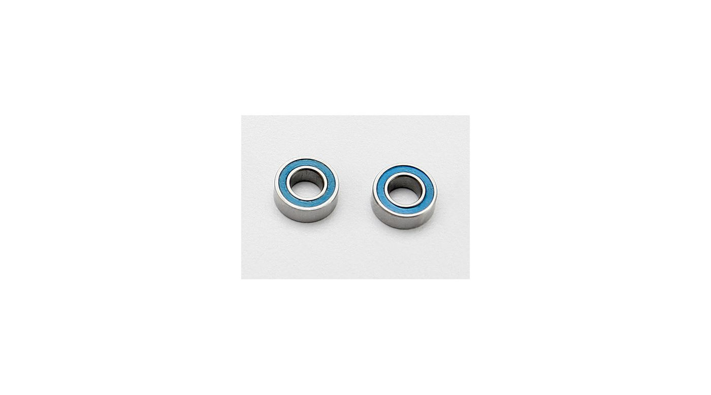 Image for BB, Blue Rubber (4x8x3mm) (2):1/16 SLH, ERV from HorizonHobby