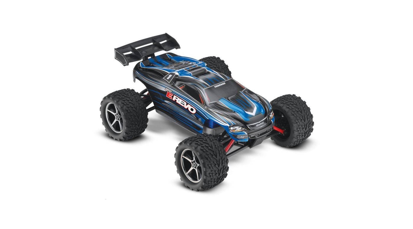 Image for 1/16 E-Revo 4WD Monster Truck Brushed RTR, Blue from HorizonHobby