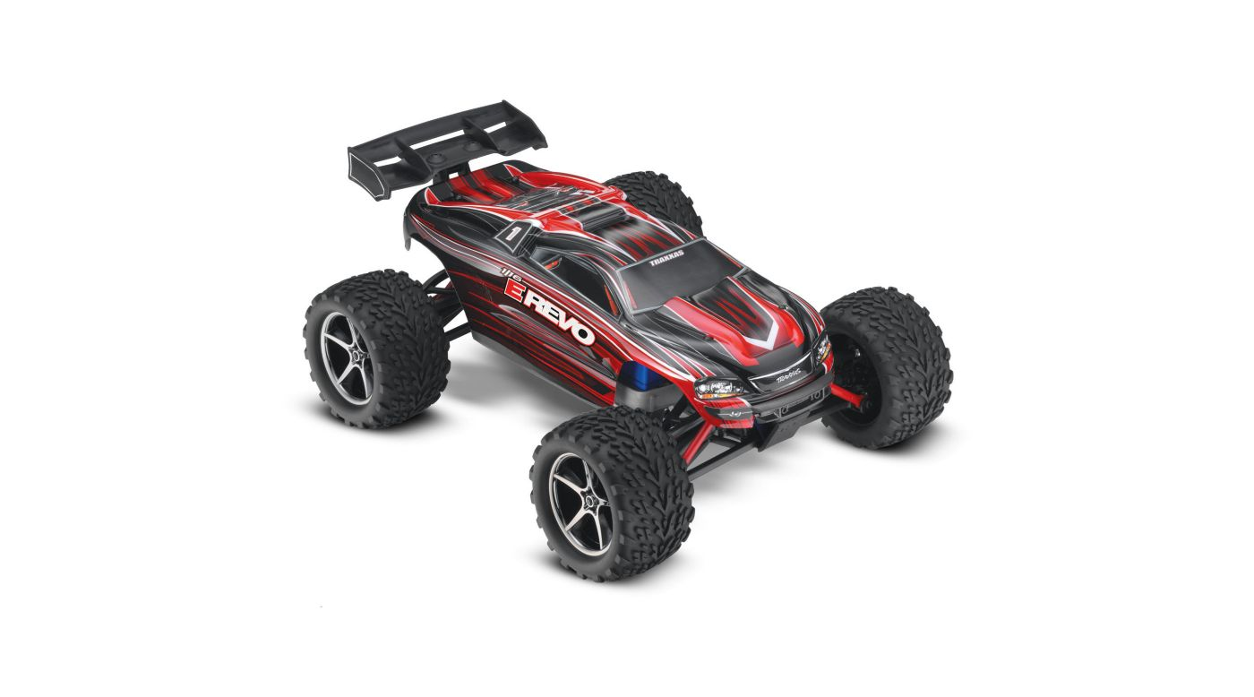 Image for 1/16 E-Revo 4WD Monster Truck Brushed RTR, Red from HorizonHobby