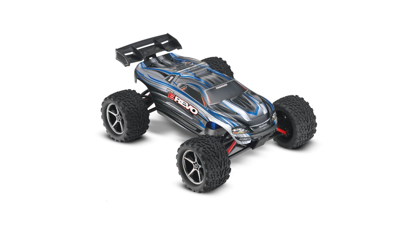 Image for 1/16 E-Revo 4WD Monster Truck Brushed RTR, Silver from HorizonHobby