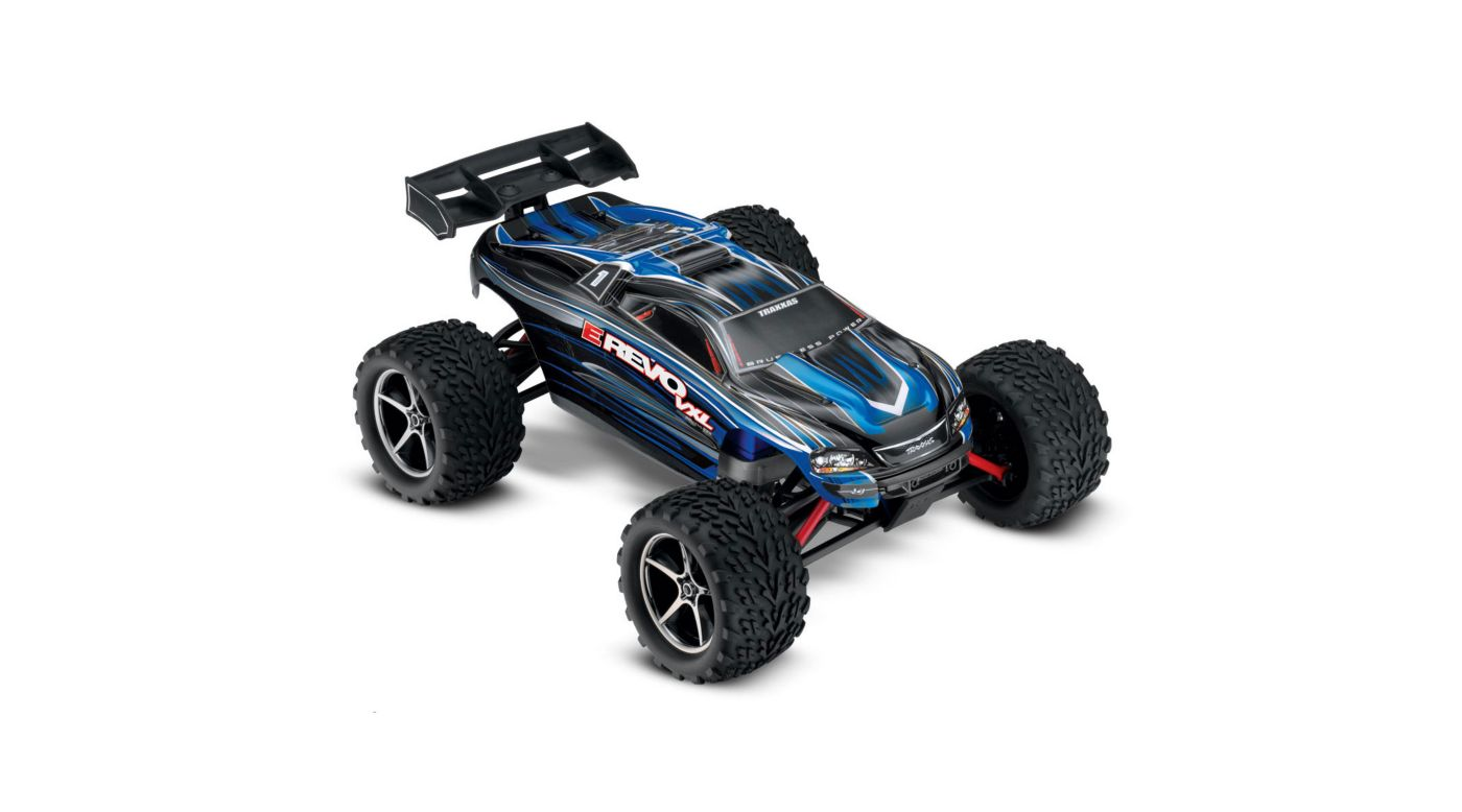 Image for 1/16 E-Revo 4WD VXL RTR with TQ 2.4GHz Radio, Blue from HorizonHobby