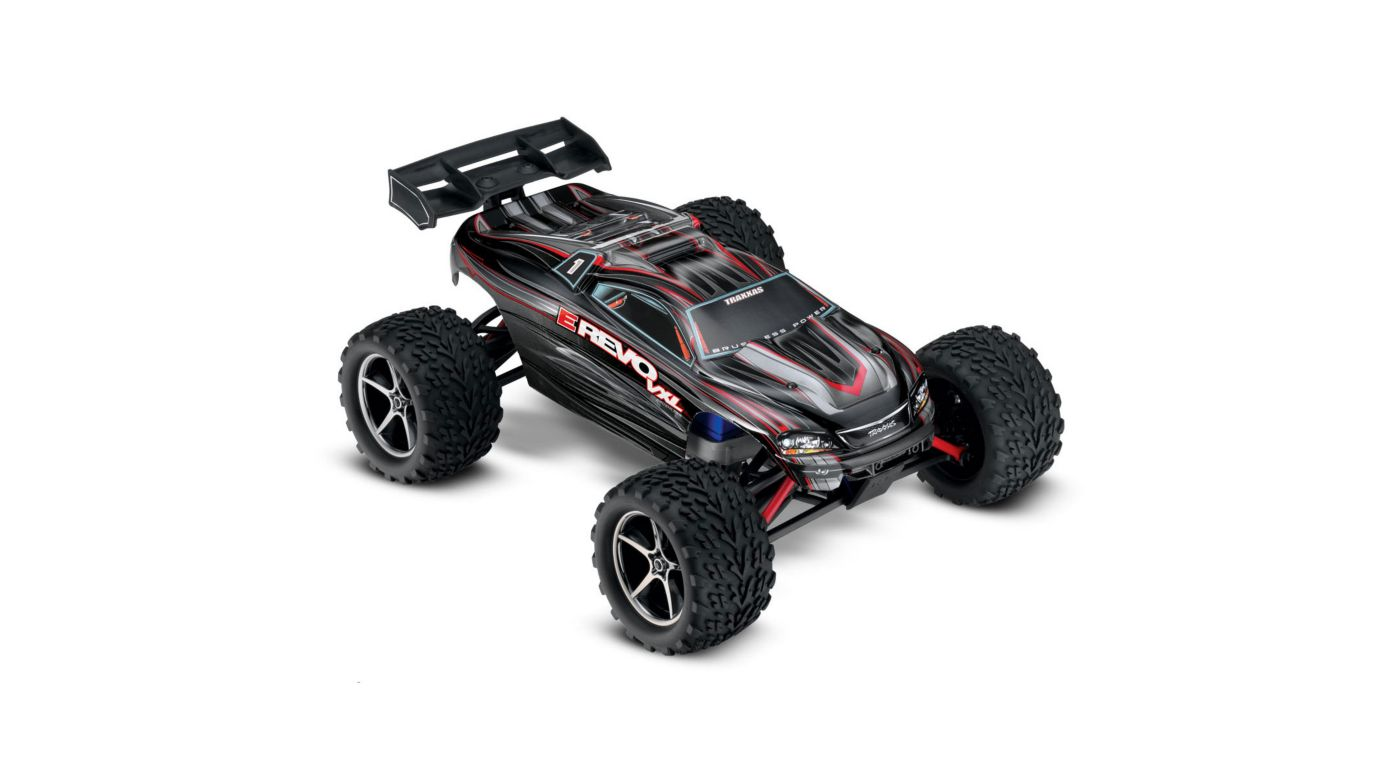 Image for 1/16 E-Revo 4WD VXL RTR with TQ 2.4GHz Radio, Black from HorizonHobby