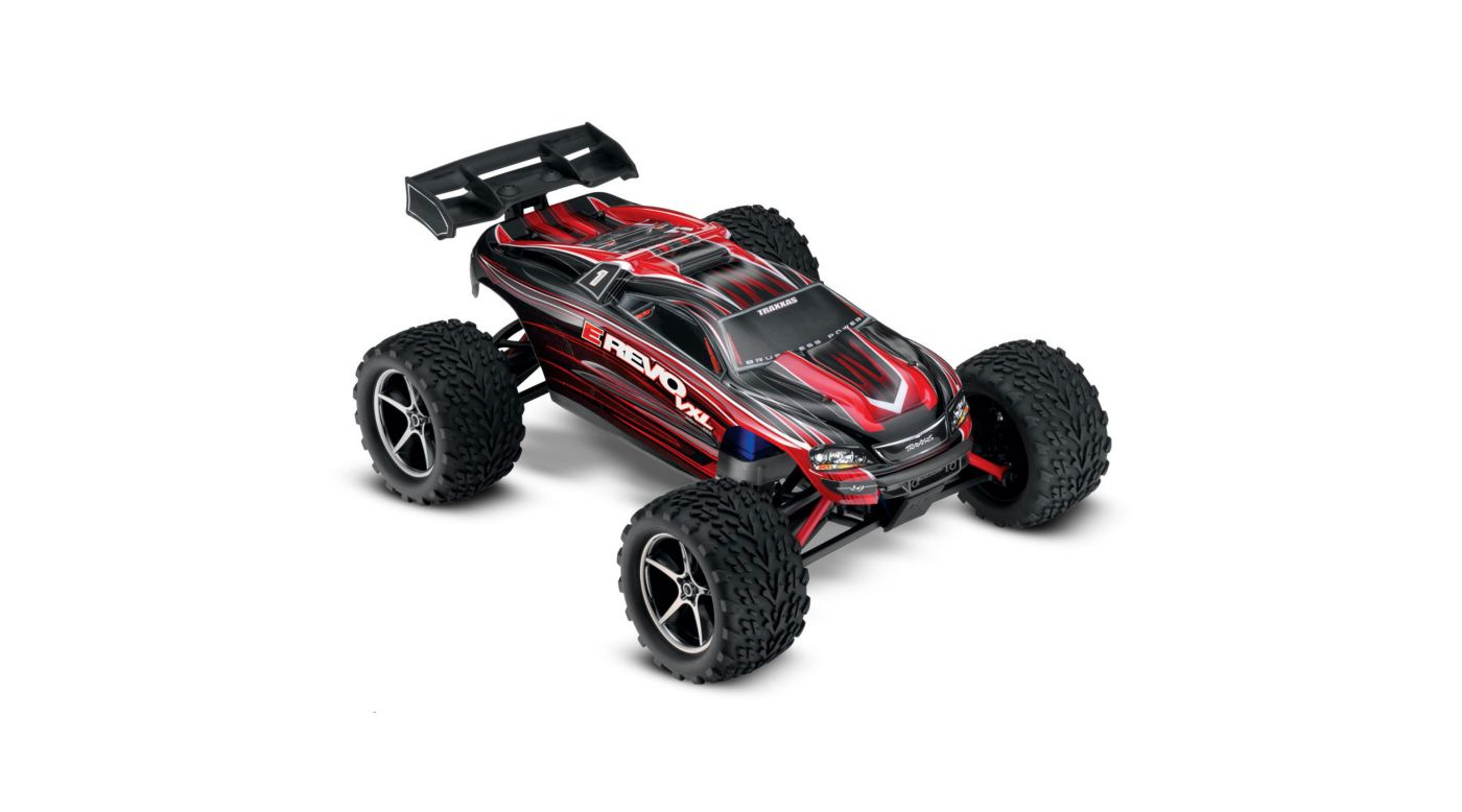Image for 1/16 E-Revo 4WD VXL RTR with TQ 2.4GHz Radio, Red from HorizonHobby