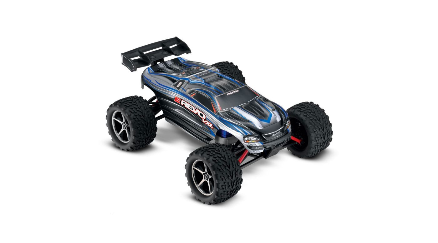 Image for 1/16 E-Revo 4WD VXL RTR with TQ 2.4GHz Radio, Silver from HorizonHobby
