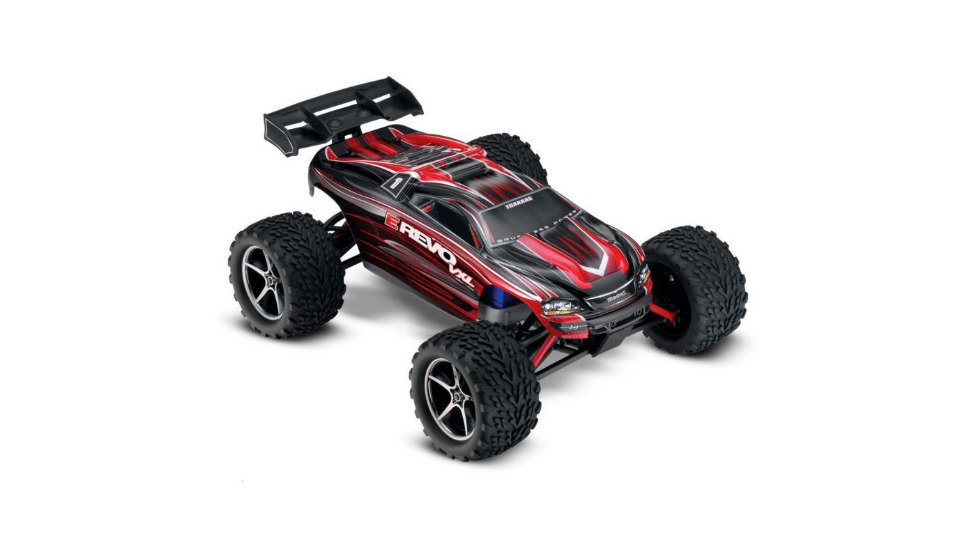 Image for 1/16 E-Revo VXL 4WD Monster Truck Brushless RTR with TSM, Red from HorizonHobby
