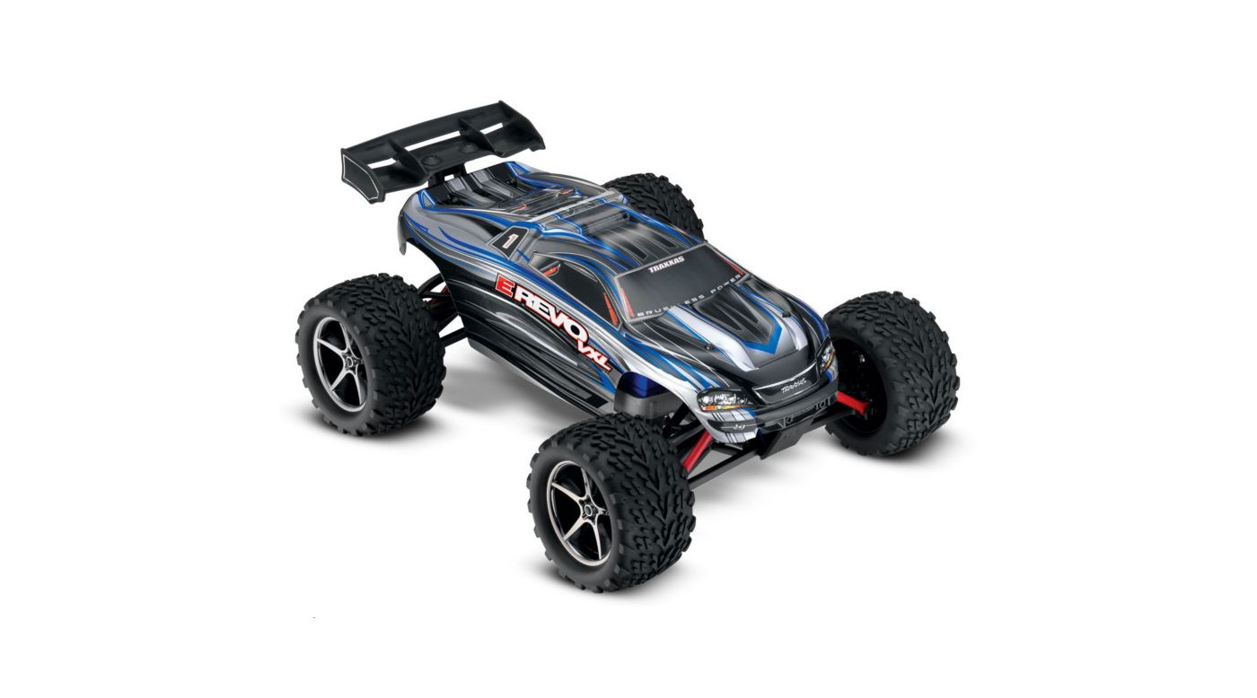 Image for 1/16 E-Revo VXL 4WD Monster Truck Brushless RTR with TSM, Silver from HorizonHobby